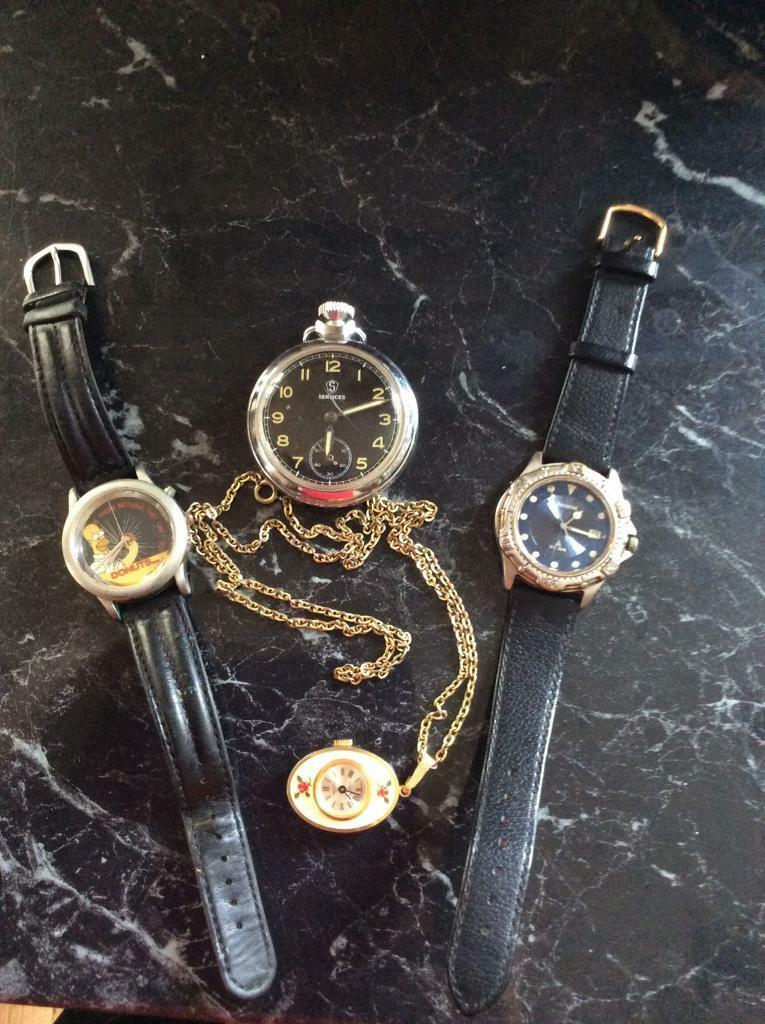 Watch assortment x 4