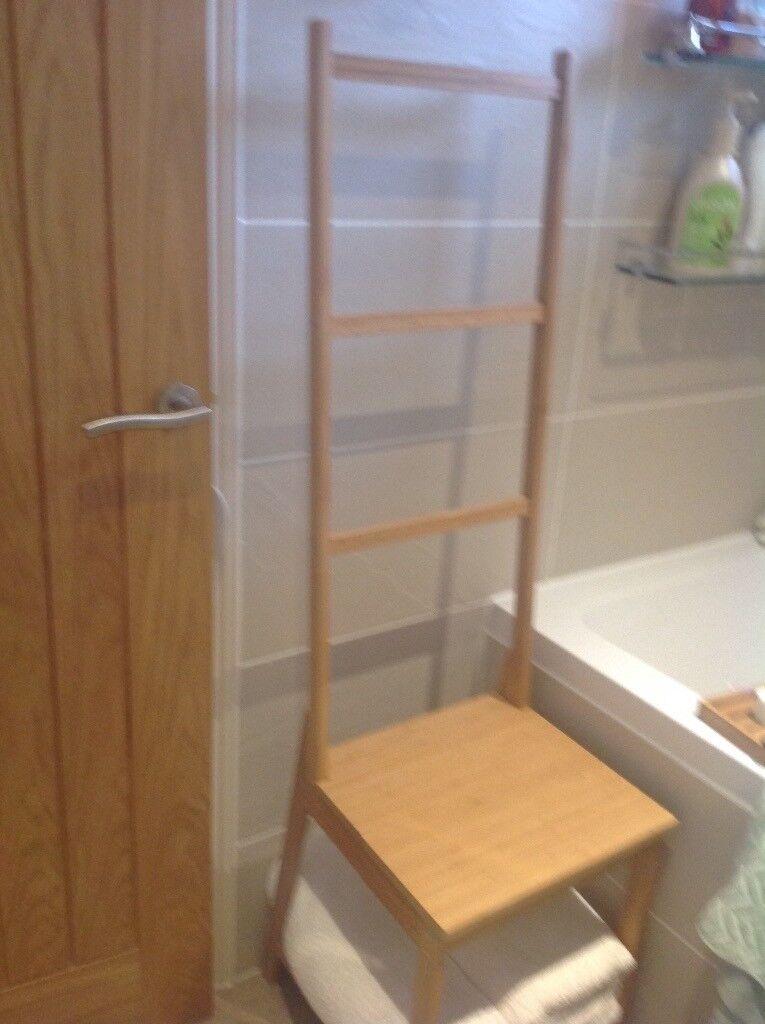 Ikea Towel rack chair