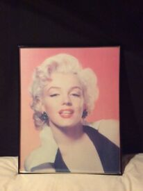Marilyn Monroe Framed Colour Print