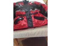 Men's Motorcycle Jacket.