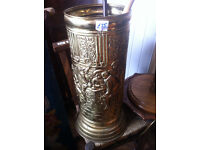 Umbrella Stand looks great with nice design. sizes diameter 11in H 27 in