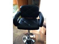 Brand new leather bar stool