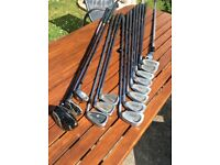Patriot flow weighting golf clubs and others ie. drivers ,bag
