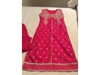 Girls cotton salwar kameez size 36 brand new