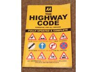 AA The Highway Code book for theory test