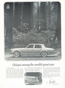 1977-Cadillac-Seville-Sedan-Classic-Vintage-Advertisement-Ad-H44