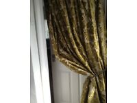 Luxurious heavy pair of curtains width 380 height 440