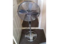 Electrical stand fan