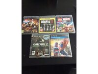 5 PS3 games in great, working condition.