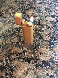 Vintage Must De Cartier Gold Plated lighter