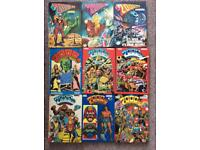 Marvel whizzed cor smash etc 1970/ 1980 annuals collectable