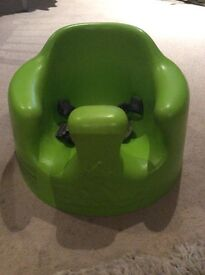 Bumbo with straps (Green) £10