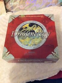 Dragonology Board Game - immaculate unplayed & complete