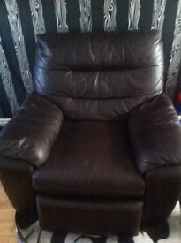Chair leather dfs
