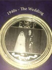 Platinum Wedding Anniversary Coin