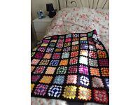 New hand crochet blanket