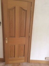 Internal Oak Door 4 Panel