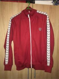 Red Fred Perry Medium Jacket