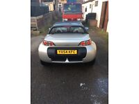 Smart car roadster 80 rhd