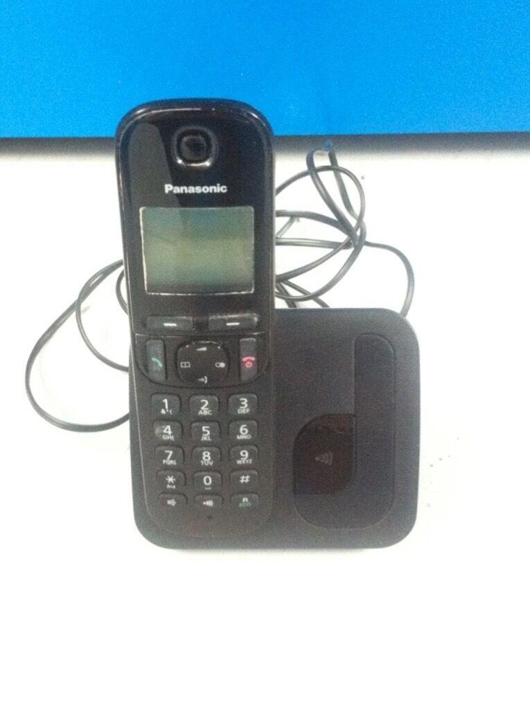 c94edc615b8 Second-hand Panasonic KX-TGC210EB Digital Cordless Phone with LCD Display -  Black