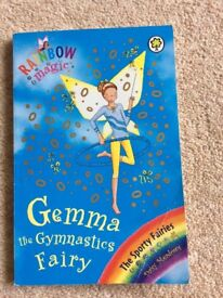 Rainbow Magic 3 fairy books, Zara Starlight, Bethany Ballet, Gemma Gymnastics