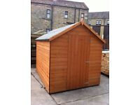 Wooden Garden Shed 7FT x 5FT *Factory Seconds*