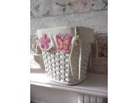 Basket for storage, wicker, rattan, decorative