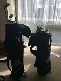 2 sets kids golf clubs