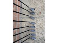 Set of MacGregor M455 V Foil Forged Irons