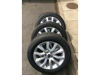"""Range Rover Sport HSE 20"""" Alloy Wheels and tyres"""