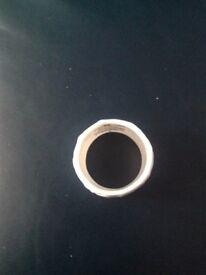 White Wedgewood Napkin Rings