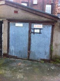 Lock up garage for sale in wavertree