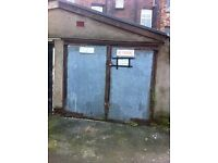 Lock up garage for sale in wavertree
