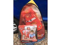 Cars Lightning McQueen Pop Up Tent and Play Tunnel