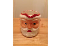VINTAGE COLLECTIBLE SANTA CLAUS/FATHER CHRISTMAS JUG MADE FOR BIRD'S CUSTARD IN THE 1950S