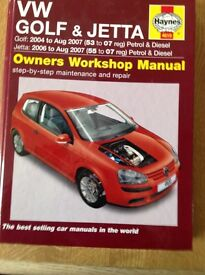 Volkswagen/Jetta Haynes car manual