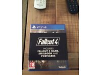 Fallout 4 Special Edition with Steelbook and Postcards - PS4