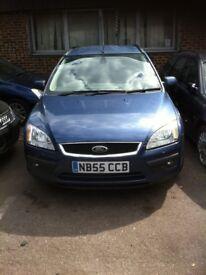 Ford FOCUS ghia estate 1.6cc 55 plate blue diesel