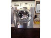 BOSCH WAQ2836SGB Washing Machine - Silver .