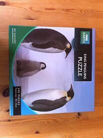 King Penguins Jigsaw Puzzle, 500 Pcs, BBC Earth