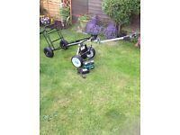Electric fishing trolley (new trolley with rebuilt motorised unit)