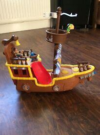 Jake and neverland pirates pirate ship