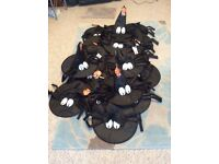 HALLOWEEN GLOW IN THE DARK WITCHES HATS BNWT 50p each