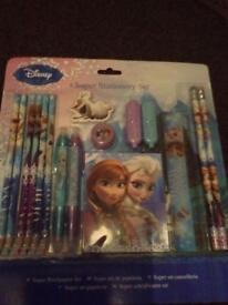 Boys and girls pens and pencil sets