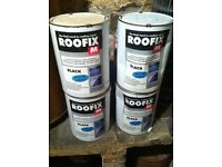 Roofix 20 litre Roof Repair 4 TINS IN TOTAL