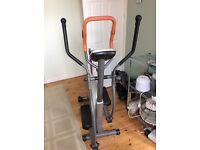 Body sculpture elliptical trainer