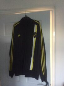 3 Adidas tracksuit tops