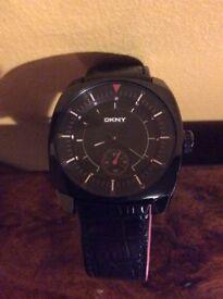 Ladies DKNY ceramic chronograph watch