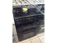 Creda C366EK 60cm Electric Double Oven Ceramic Cooker with 4 MONTHS WARRANTY