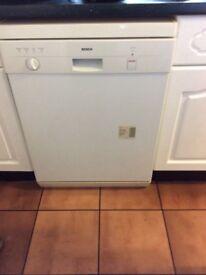 Working dishwasher